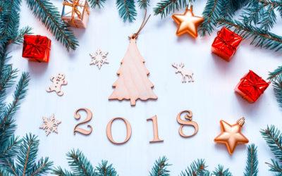 Votre centre vous présente ses meilleurs voeux pour 2018