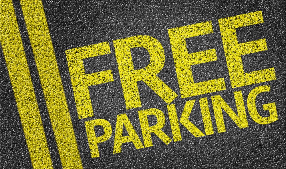 Votre parking gratuit pour les fêtes !!