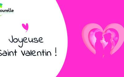 Joyeuse Saint-Valentin à tous les amoureux!