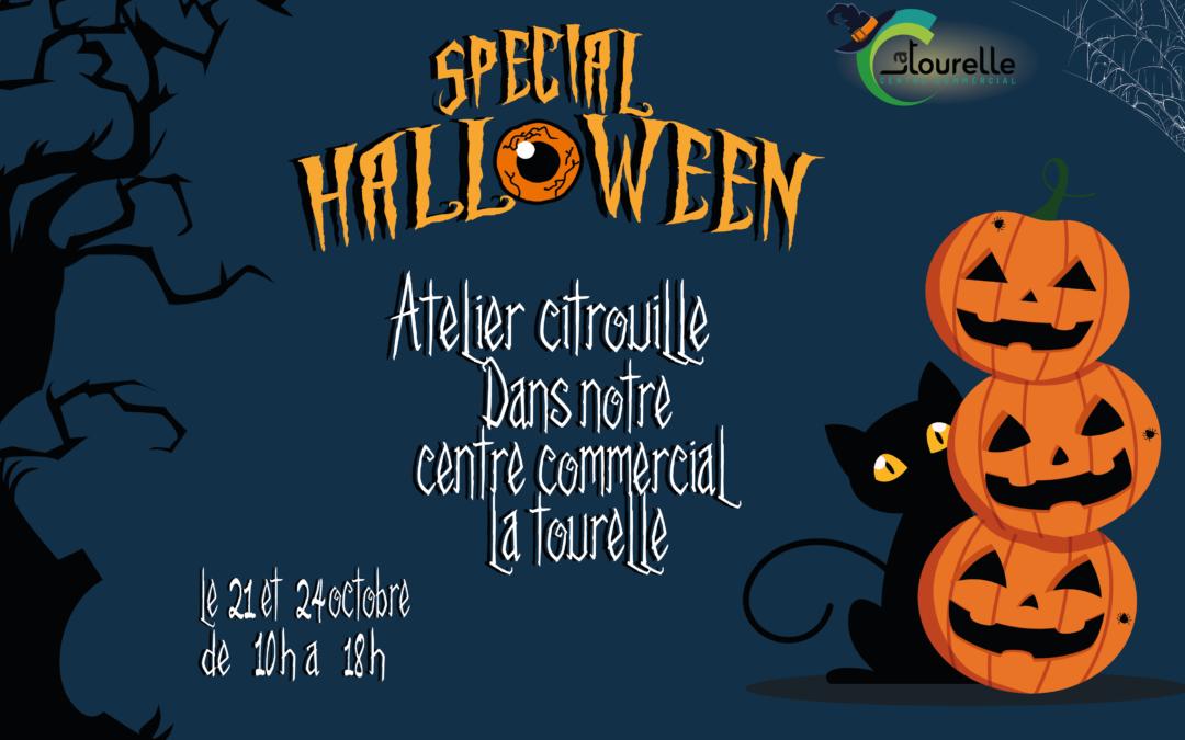 Atelier Citrouille pour Halloween!